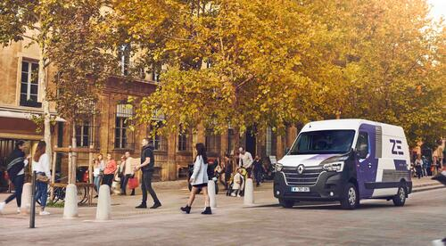 Renault Master ZE City Center Delivery